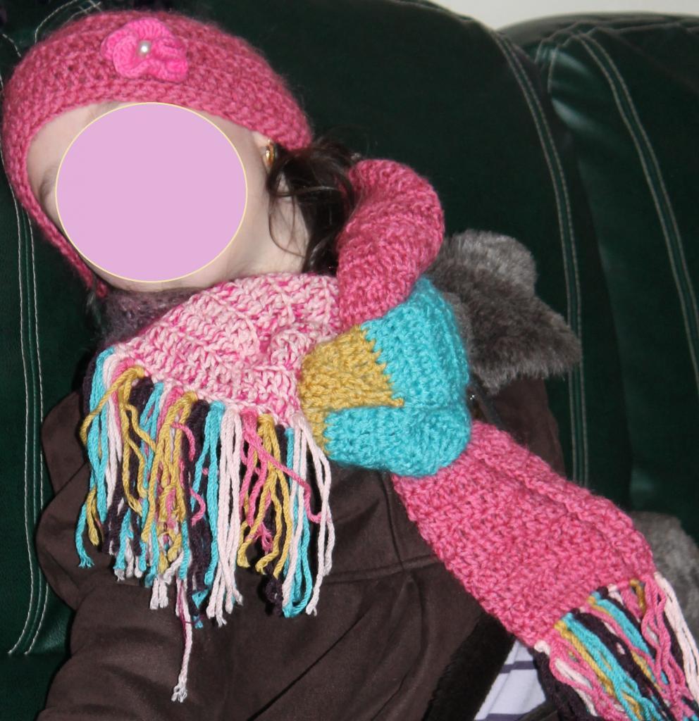 Bonnet et écharpe