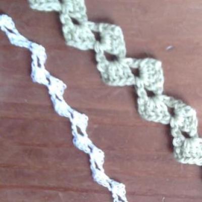 Ruban au crochet (dentelle)