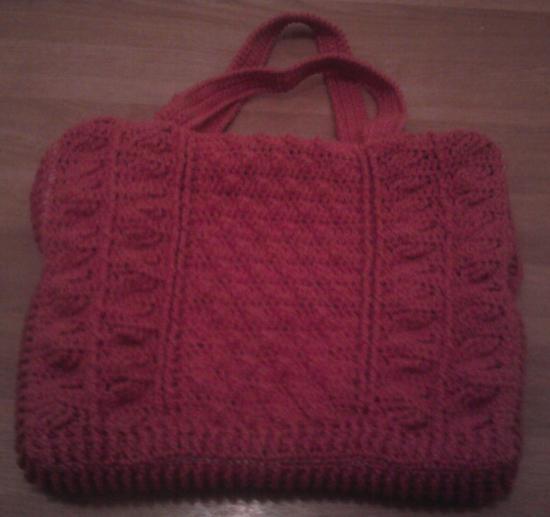 Sac Buvard, crochet N°4,5